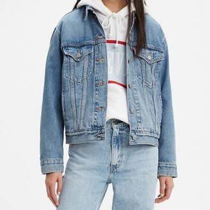 Levi's ex boyfriend trucker jean jacket